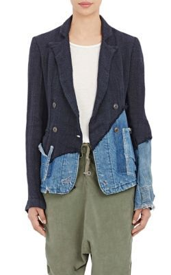 Greg Lauren Double-Breasted Jacket at Barneys New York