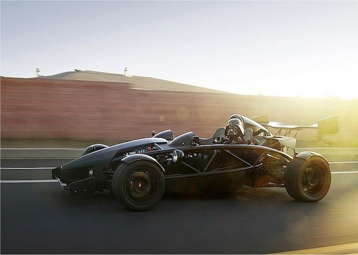 Arial Atom driven by Darth Vader