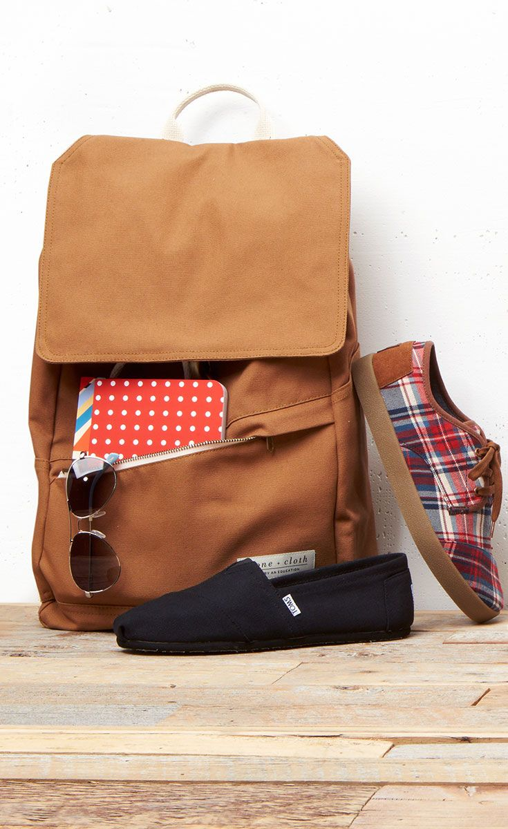 Tough choices... Canvas Classics or Plaid Paseos on your first day? #TOMS Give Back to School Contest