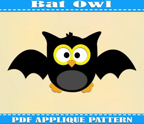 Hey, diesen tollen Etsy-Artikel fand ich bei https://www.etsy.com/de/listing/166715384/bat-owl-applique-pattern-template
