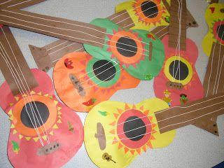 PATTIES CLASSROOM: Cinco de Mayo Mariachi guitars and corn tortillas