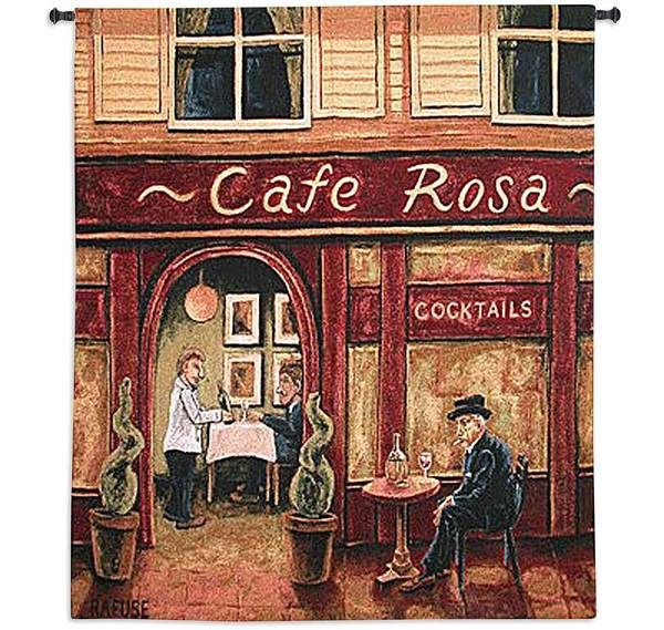 """Cafe Rosa by Will Rafuse 