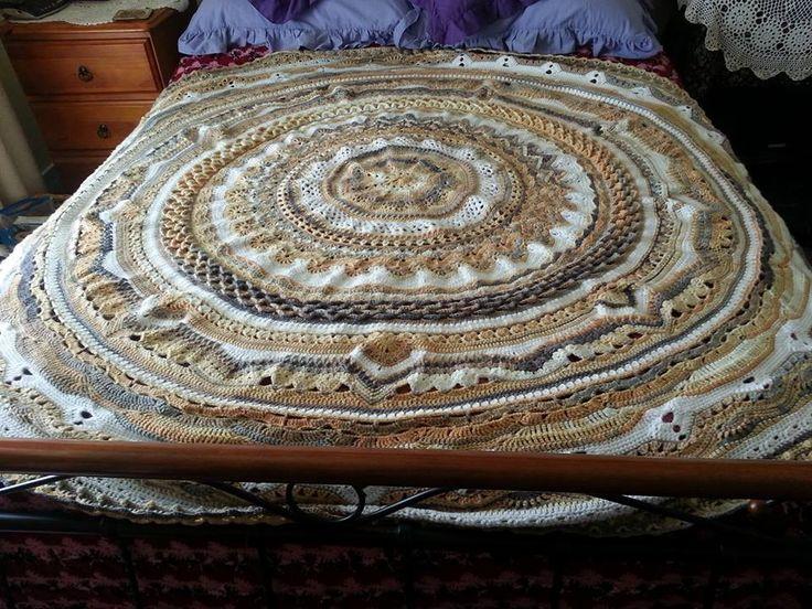 Rings of change, ICE yarn, 4 mm hook
