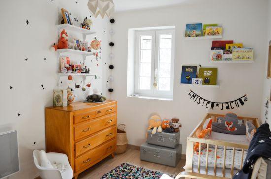 Une chambre pour petit garçon inspirée par le style de décoration Suédois / Ein Zimmer für einen kleinen Jungen, inspiriert vom schwedischen Stil