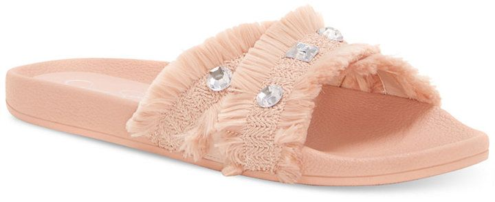 Jessica Simpson Playah Slide-On Sandals Women's Shoes