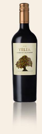 The 2010 Tilia Cabernet Sauvignon offers aromas of red fruit flavors, sweet spice and a touch of fresh mint. Garnet jewel toned, this Cabernet Sauvignon is full and soft with layers of red currant and cassis, notes of cigar box, leather and ripe black fruits. The wine finishes with finely grained tannins that add structure and length.