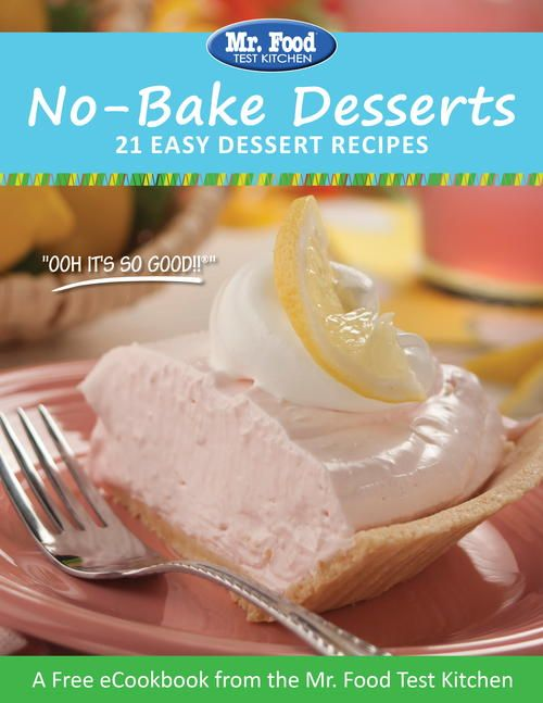 No-Bake Desserts FREE eCookbook