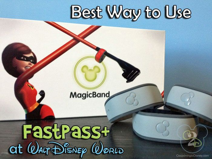 This pin contains the best ways to use Fastpass+ at Walt Disney World.