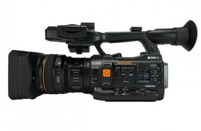 Sony PXW-X200  Small and compact for those tight situations!