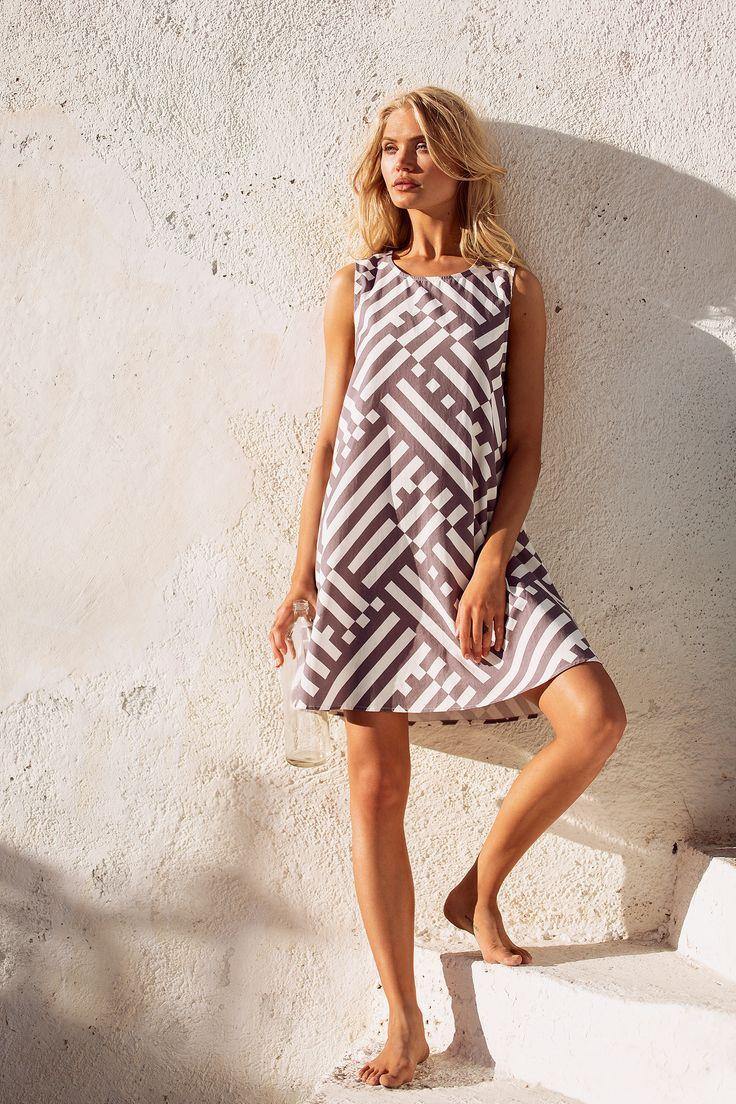 Mister Zimi | Summer Geo Sleeveless Tina Dress