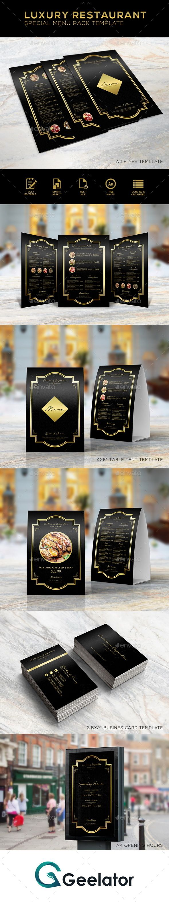 Luxury Restaurant Special Menu Pack Template - #bar #black #cafe #cafemenu #coffeshop #creative #deliciousmenu #deluxe #elegant #fastfood #fastfoodmenu #food #foodmenu #luxurious #luxury #luxurymenu #luxuryrestaurantmenu #menu #menudesign #menupack #menutemplates #multipurpose #multipurposemenu #printtemplate #promotion #restaurant #restaurantmenu #steak #streetfood #streetfoodmenu