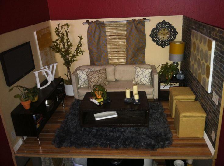 My miniature modern dollhouse living room got remodeled and I m loving. 135 best my miniature dollhouse modern rooms I ve handmade