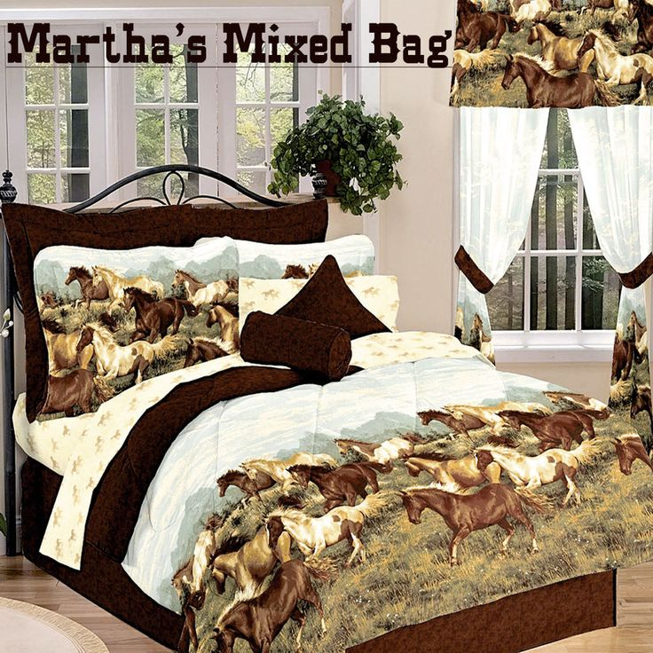 Brown Bedding, Blue Comforter And Navy Blue Comforter