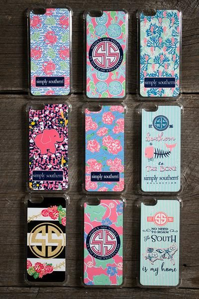 Colorful and fun phone cases for your iPhone 6. Many varieties to choose from and fit you personality. Love these!