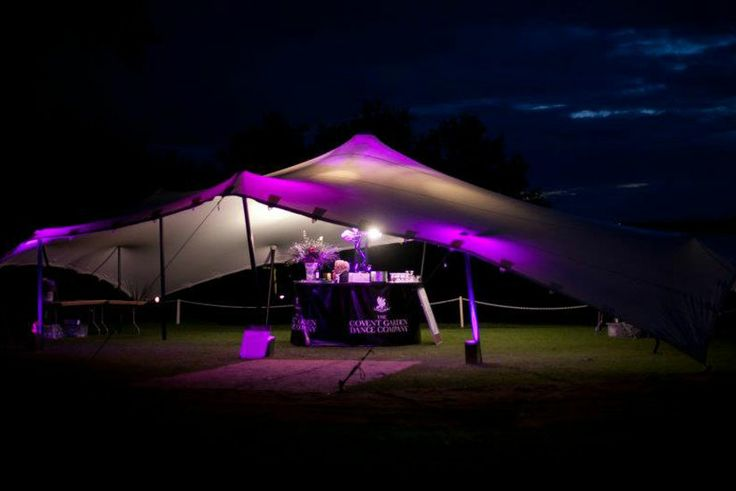 10.5m x 15m A popular size for private events, this tent will hold around 80 people dining - 120 standing. This size is very popular for a bar tent/dance tent/reception or just to extend an entertainment space.