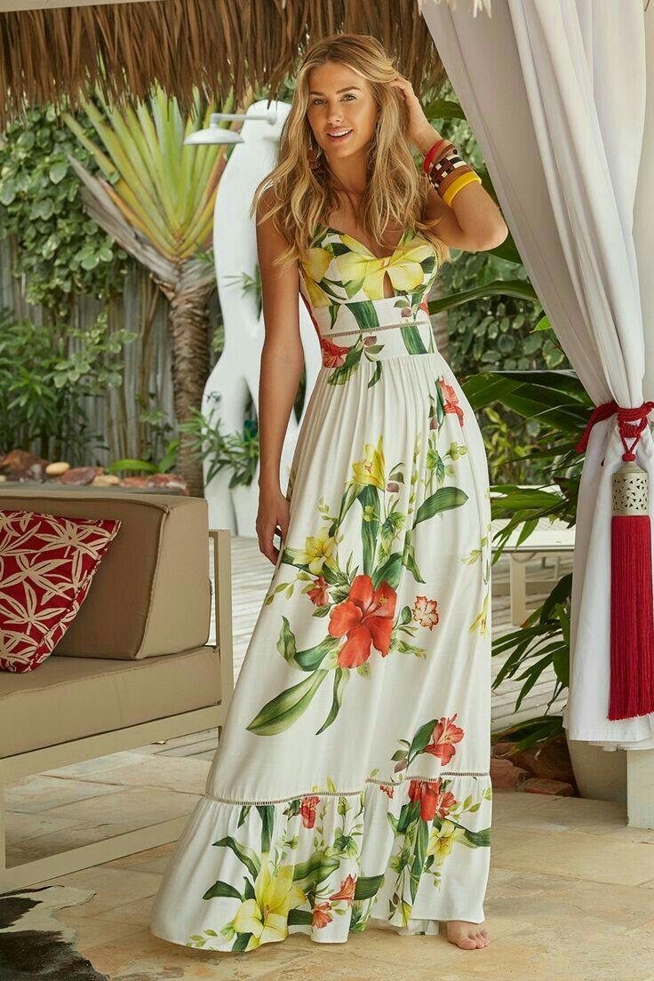 Pin De Nurugodson En Moda Vestidos Largos Casuales Vestidos Largos Florales Vestidos Largos Verano