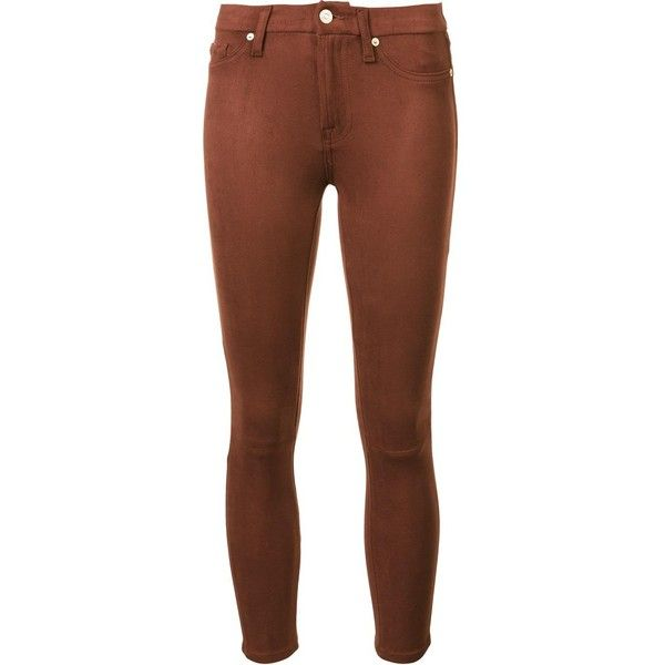 7 For All Mankind super skinny cropped jeans
