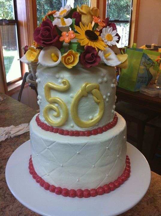17 best images about my 50th birthday ideas on pinterest for 50th birthday cake decoration
