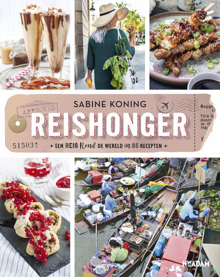 Reishonger, zo heet het nieuwste boek van foodiefriend Sabine. Wij vertellen jullie alles over dit nieuwe boek, waar reizen en eten centraal staat.