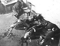 1929 Valentines Day Massacre in Chicago