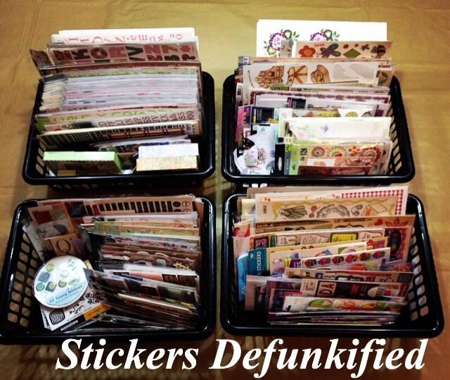 Tracys Treasures: Stickers….Defunkified!!!