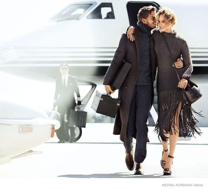 michael kors 2014 fall ad campaign01 Karmen Pedaru is LA Glam for Michael Kors Fall 2014 Campaign