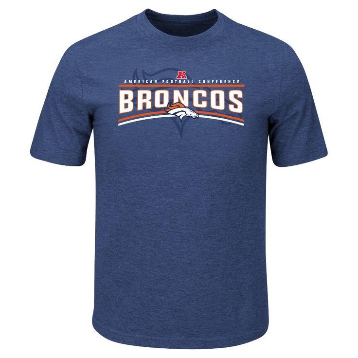 T-Shirt Denver Broncos Team Color Xxl, Men's, Multicolored