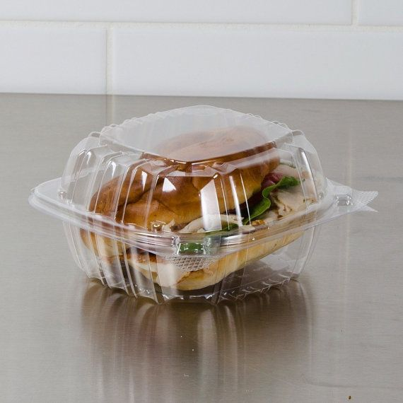 20 Food Container Food Tray Sandwich by WrapupthePartyShop on Etsy