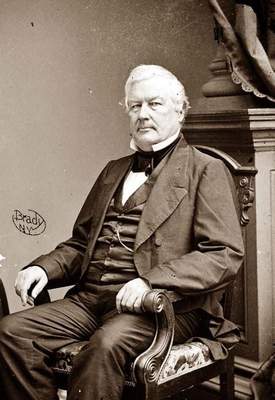 Millard Fillmore served as President Zachary Taylor's VP until the president died in office. He was the second VP to ascend to the Presidency in as many decades.
