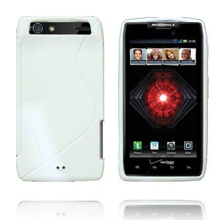 Solid S-Line (Hvit) Motorola Droid RAZR Maxx Deksel