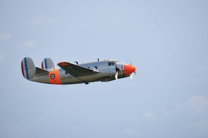 Flamand MD312 F-AZES, de l'Association Montbéliard Dassault 312, Meeting aérien de Verdun 28 aout 2016. Le MD-312 Flamant N°226 porte les couleurs de l'École de l'Aviation de Transport de la Base Aérienne 702 d'Avord. Le prototype du  MD-312 N°1, effectua son premier vol le 27 avril 1950. Entre 1951 à 1954 un total de 117 exemplaires furent livrés à l'armée de l'air.