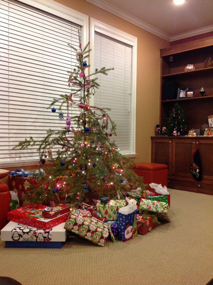 Our smaller tree :D