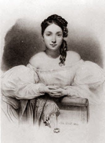 Juliette Drouet, Actress, courtesan and lover of Victor Hugo, died on this day.    A consummate lady of letters, Juliette's stormy affair with Hugo lasted through decades and together, the couple exchanged hundreds of loving letters.  www.madamegilflurt.com/2014/04/notable-births-juliette-drouet.html