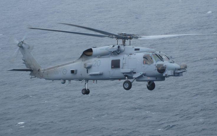 Sikorsky MH-60R Seahawk - my last flight in the Royal Australian Navy on 27 Oct 2016!