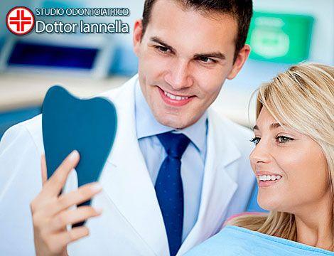 Mantieni i tuoi denti bianchi e sani: visita di controllo, ablazione dentale con ultrasuoni e smacchiamento presso Studio Odontoiatrico Iannella. Prenditi cura del tuo sorriso!