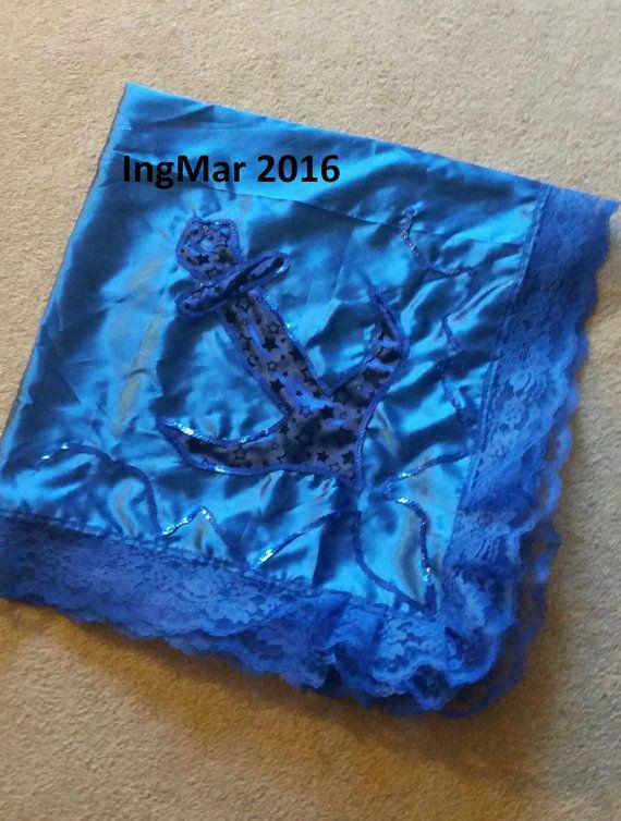 Yoruba Pano Santeria Yemaya Alter Cloth by MySpiritualCreations