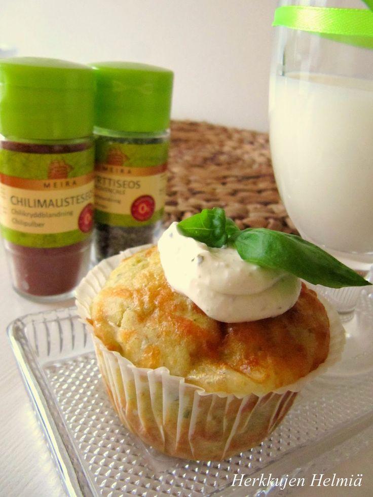 Sain Blogiringin kautta mahdollisuuden kokeilla Meiran  laajaa mauste- ja leivontatuotevalikoimaa.   Tehtäväkseni annettiin kehitell...