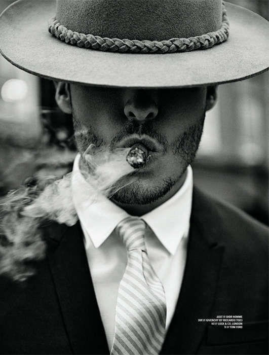 Retro Inspired Gangster Portraits - The Hat Required DSection Editorial Channels 1920s Era Elegance (GALLERY)