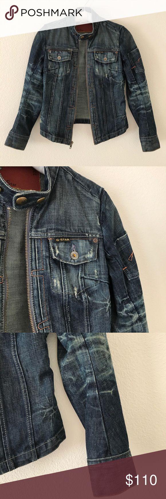 Selling this G.Star Raw Denim Jacket on Poshmark! My username is: 2dehands_0903. #shopmycloset #poshmark #fashion #shopping #style #forsale #G.Star Raw #Jackets & Blazers