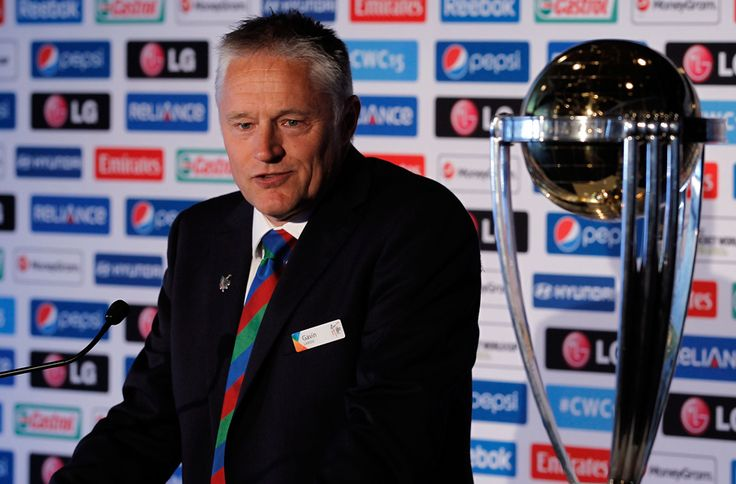 ICC's Cricket World Cup 2015's Trophy