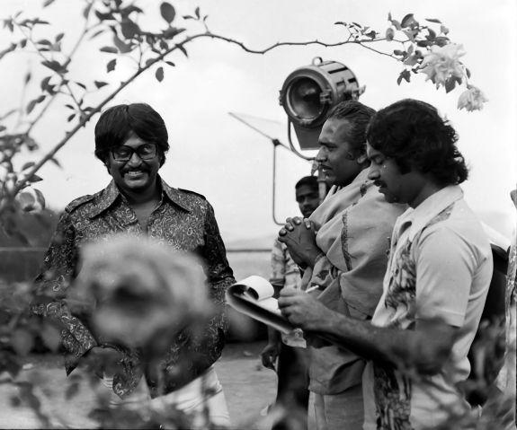Rare photo of Rajinikanth