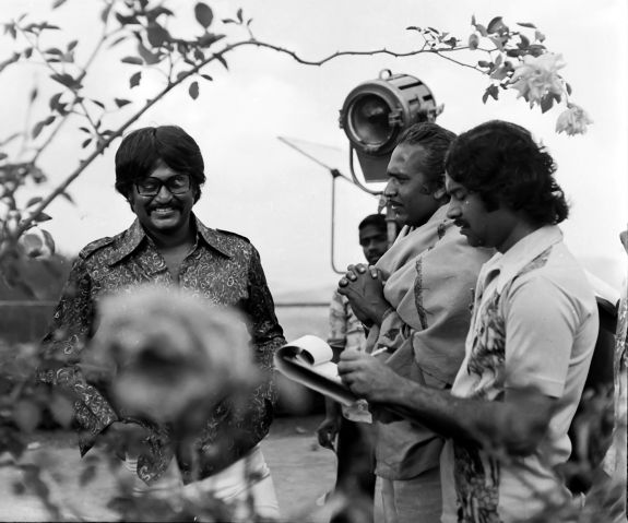 Rare photo of Rajinikanth