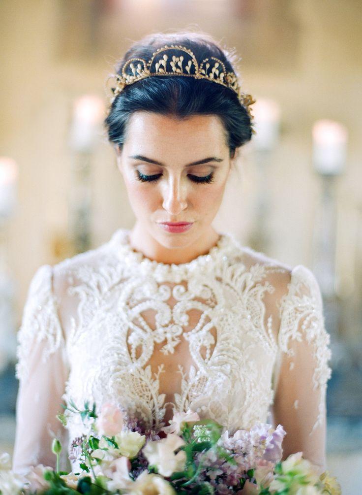Wedding Dress: Inbal Dror - www.inbaldror.co.il/en Hair + Makeup: Amy Clarke…