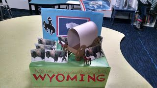 United States Shoebox Float: Wyoming