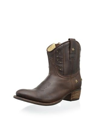 50% OFF Sendra Women's Sara Studded Western Boot (Tan)