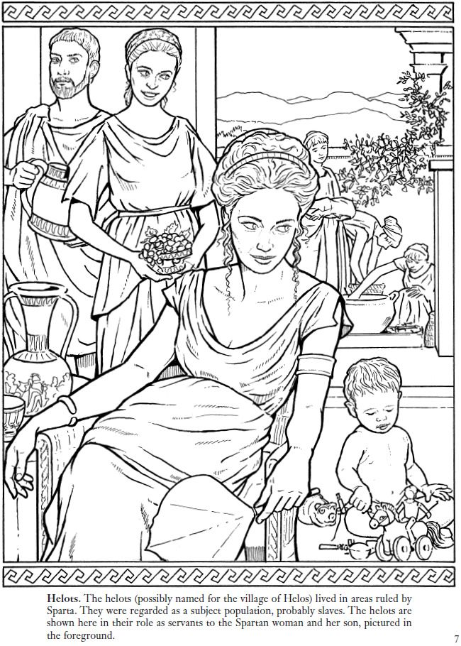 14 best Coloring Pages/LineArt Ancient Greek City States ...