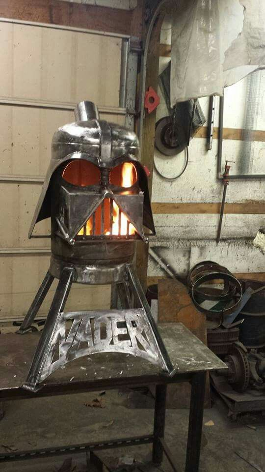 metal arts  u0026 more darth vader fire pit