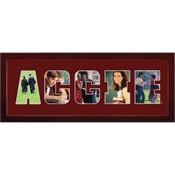 Texas A&M Aggies Photo Frame Spirit Collage Wall Decor