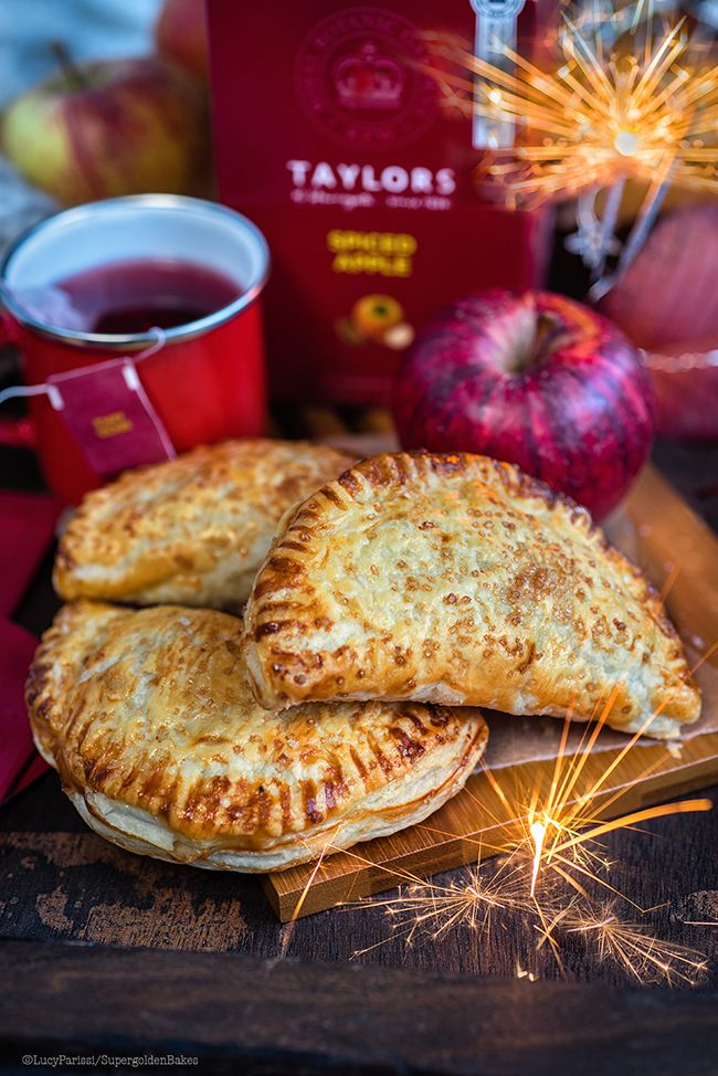 easy spiced apple turnovers for bonfire night recipe