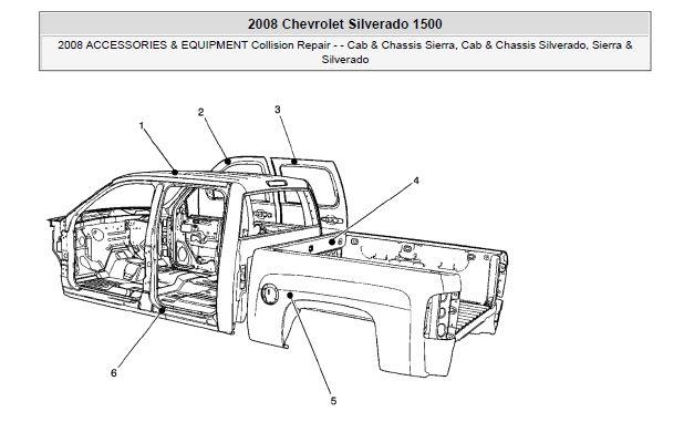 2008 Chevrolet Silverado And Gmc Sierra Service Repair Manual Wiring Included Gmc Sierra Chevrolet Silverado Silverado